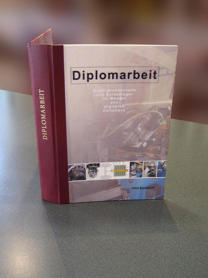 Buchbinderei - Infos - Diplomarbeiten