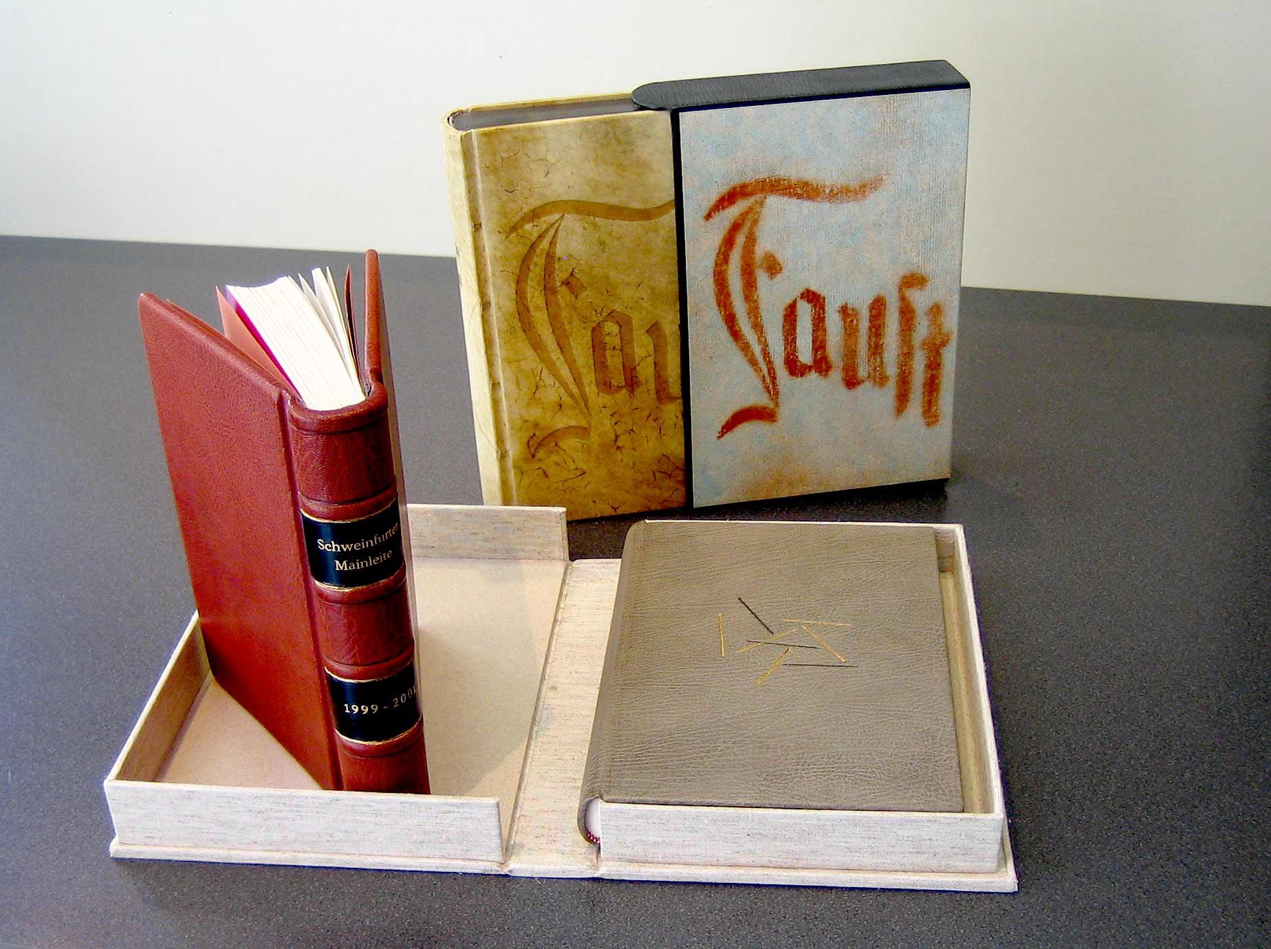 Buchbinderei - Leder und Pergament