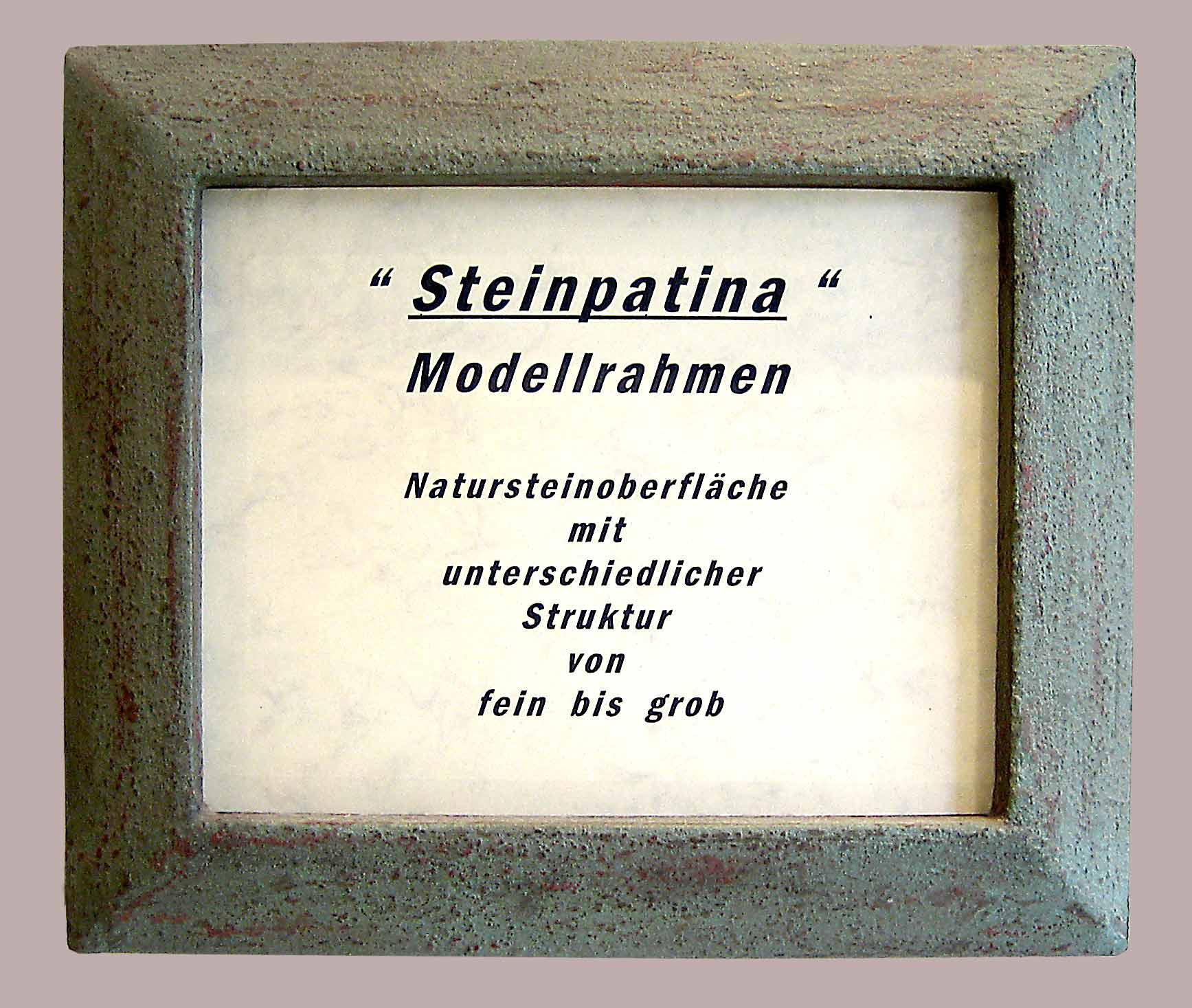 Steinpatina