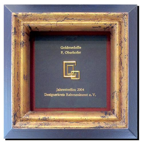 Glas - Modellrahmen mit Museumsglas