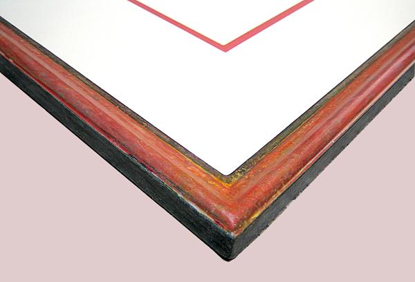Urkundenrahmen - Ausschnitt