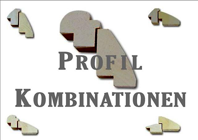 Rahmendesign - Profilkombinationen