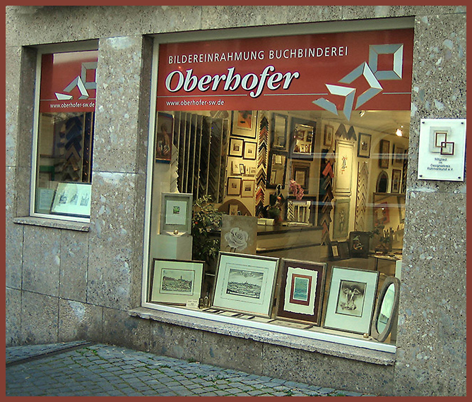 Unser Schaufenster in Schweinfurt