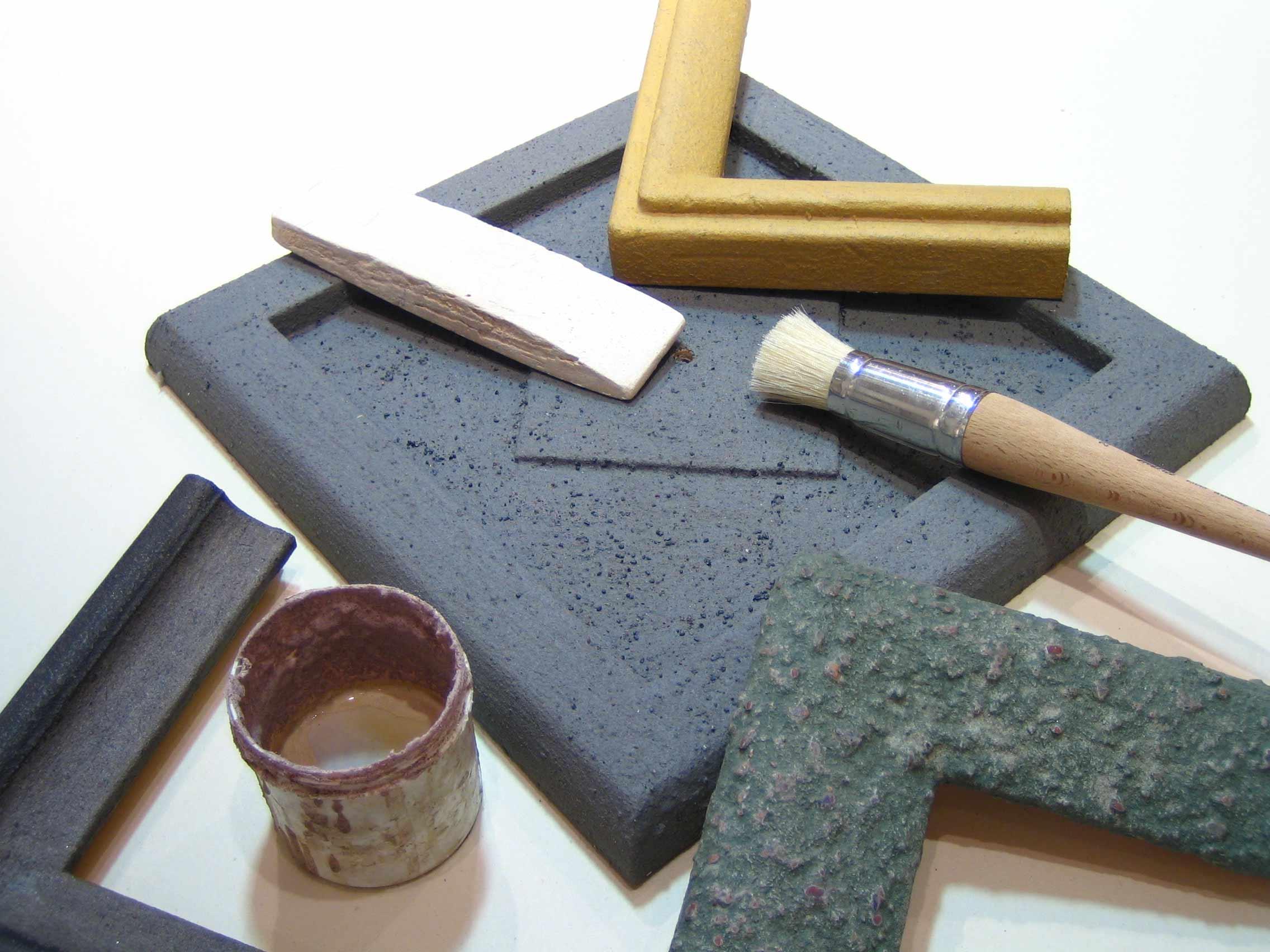 Steinpatina - Wekzeug und Material