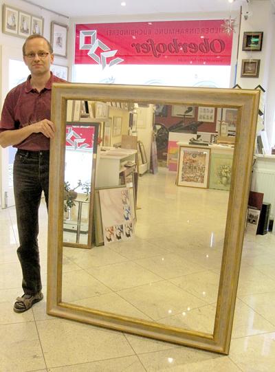 Spiegelrahmen 80 x 120 cm