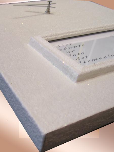 Ausschnitt - Steinzeit - Steinpatinarahmen