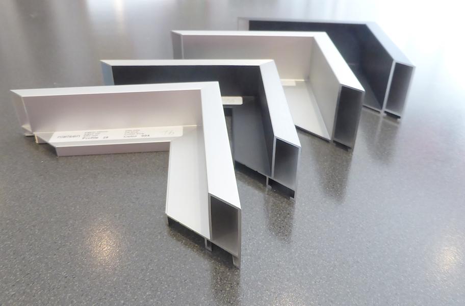 Schattenfugenleisten - Aluminium