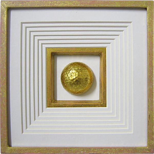 Pokalrahmen - Silber verziert