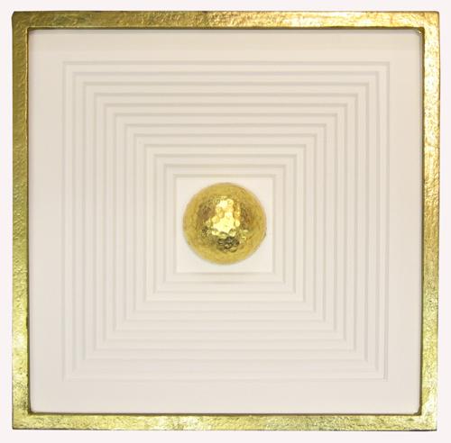 Pokalrahmen - Rahmen handvergoldet
