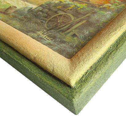 Ausschnitt - Steinpatinarahmen 50 x 60 cm