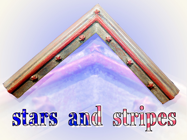 "USA - Winkel ""stars and stripes 2"""