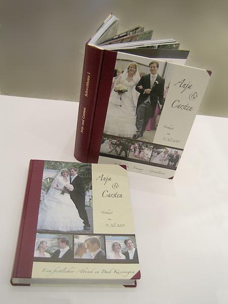 Leder - Fotobuch - Hochzeitsbuch