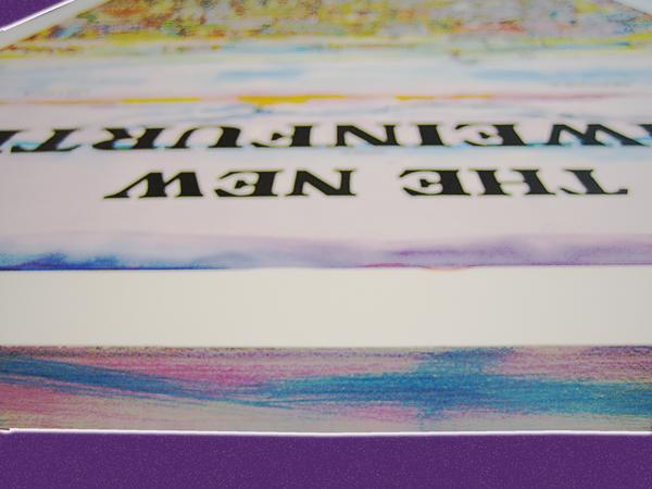 Blockbilder - Kante farbig gestaltet