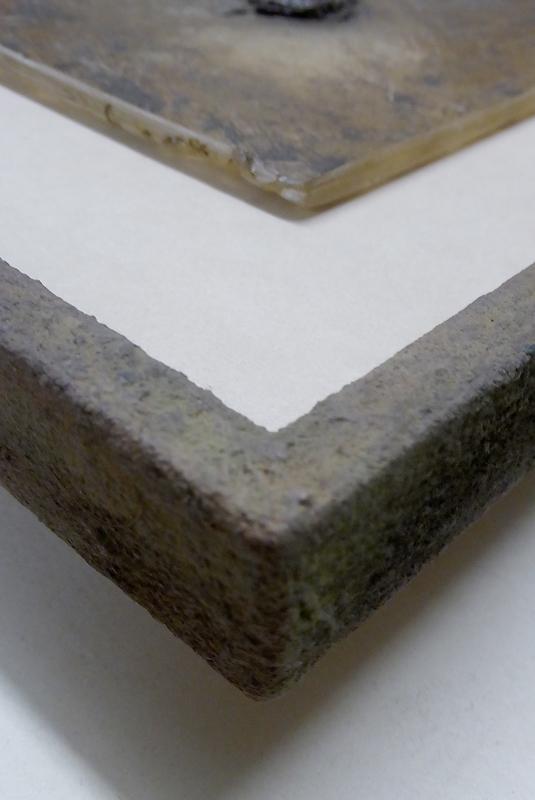 Steinpatinarahmen für Steinplatte