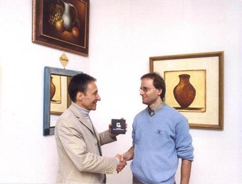 Aufnahme in den Desgnerkreis 2002