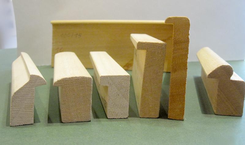 Objektrahmen - Standardprofile für Kastenrahmen