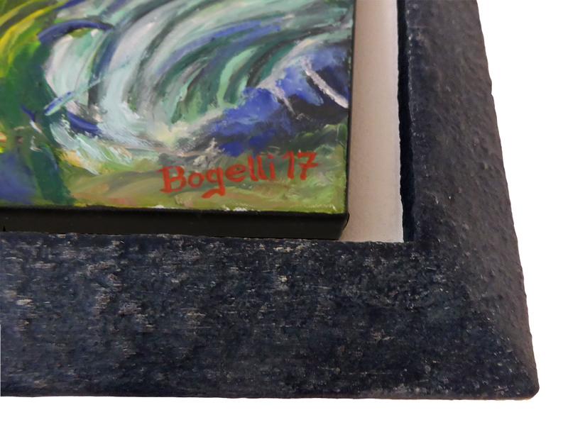 Ausschnitt - Steinrahmen - Schattenfugenrahmen