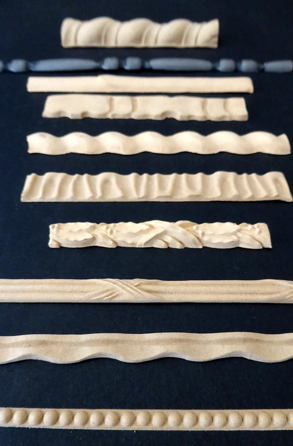 Bandverzierung aus Holz