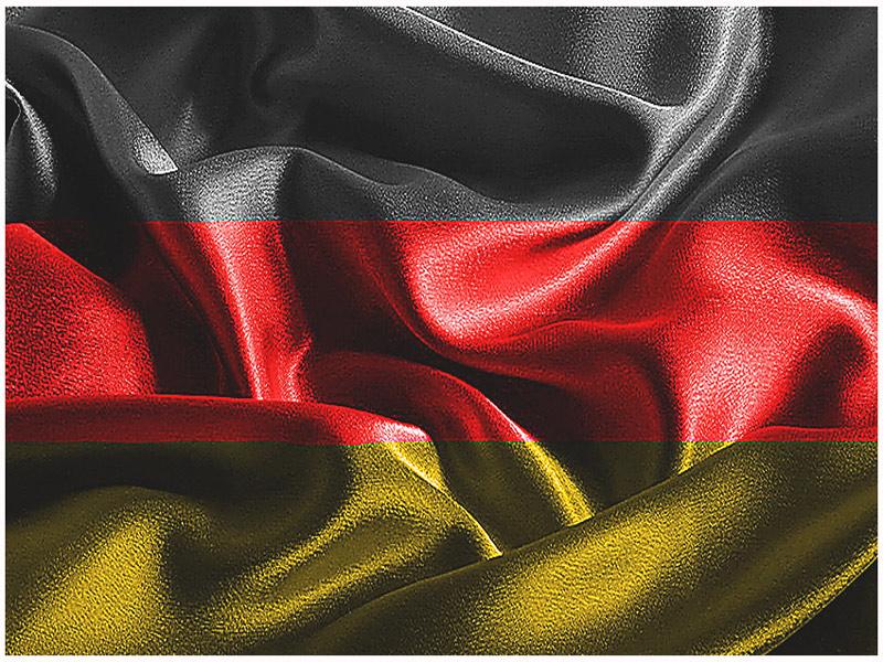 Modellrahmen mit Motiven aus Deutschland