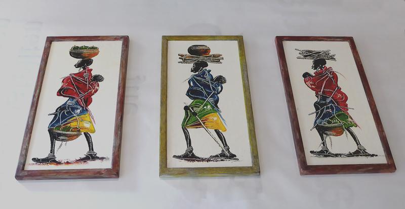 Afrika - Farbrahmen