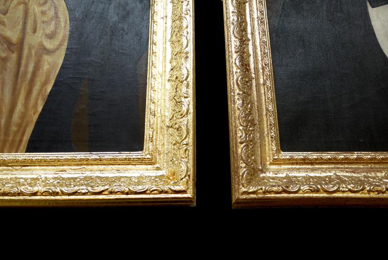 Hall of frame - vorher - nachher