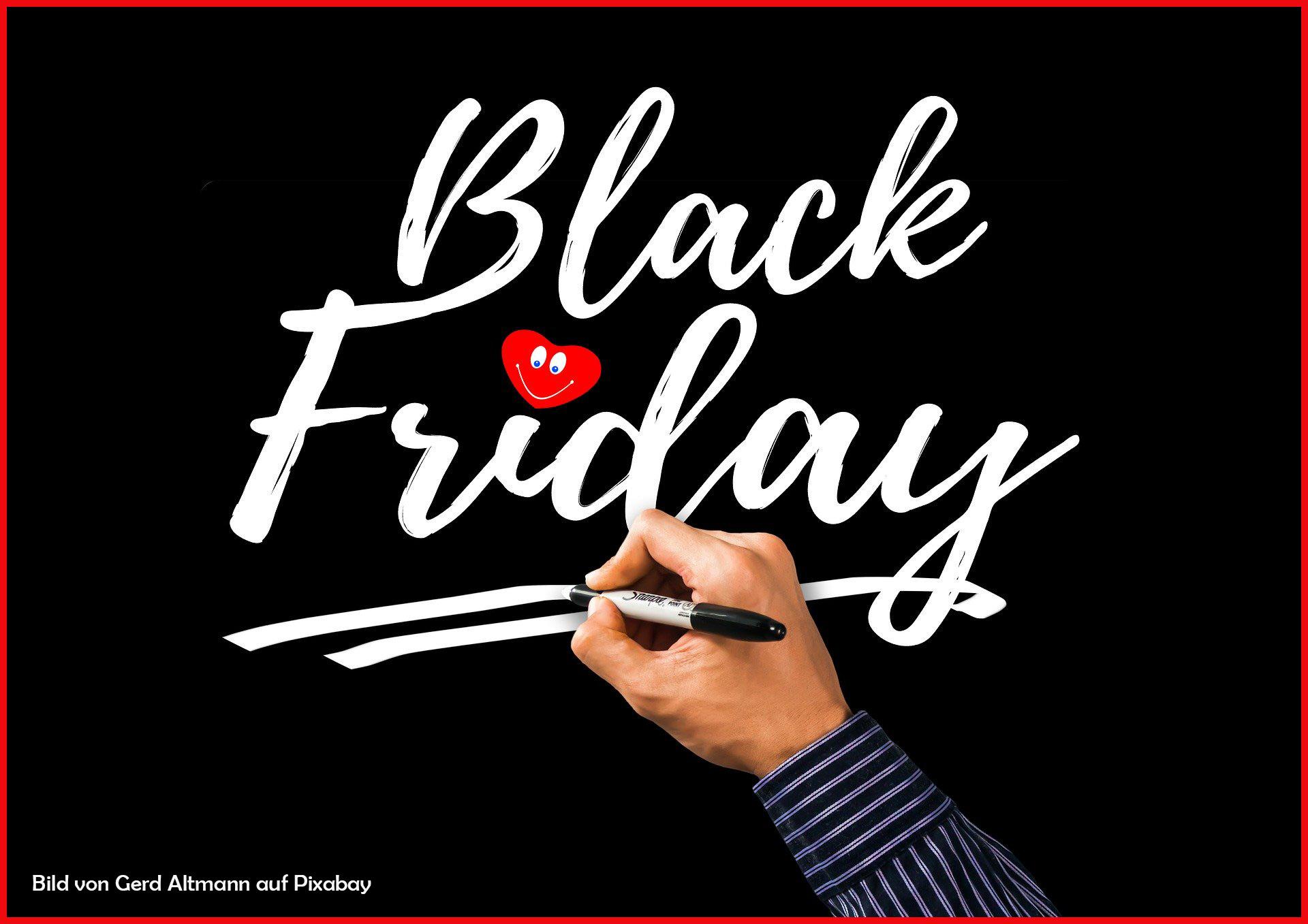Unsere Black Friday Aktion