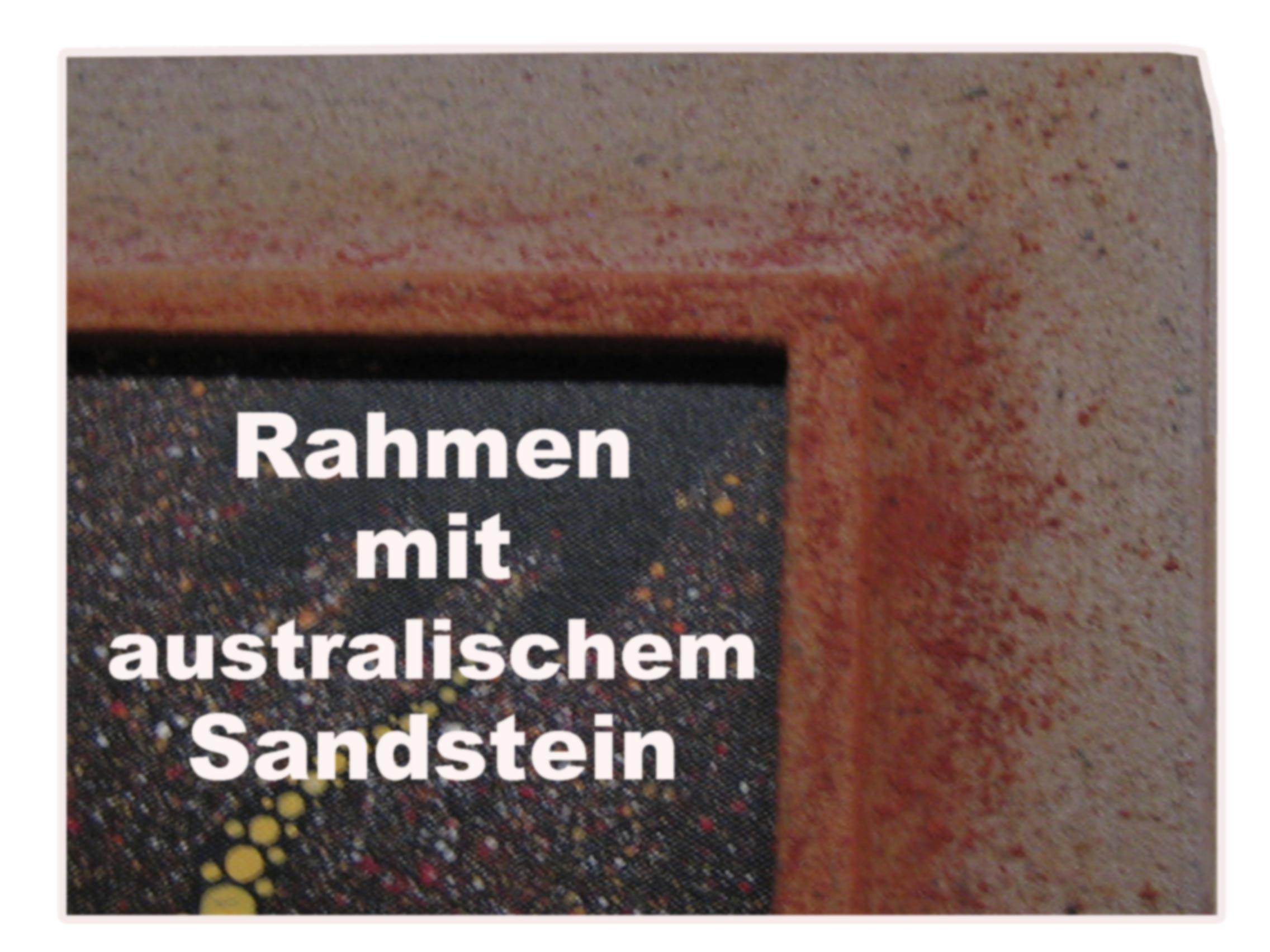 Winkel - Sandsteinrahmen