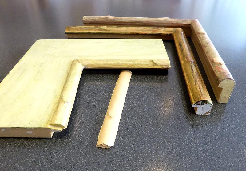 Bambus - Verzierungsstab