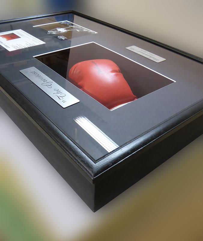 Objektrahmen - Boxhandschuh