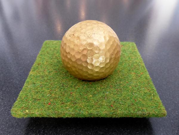 Golfball - Spiegelgestell