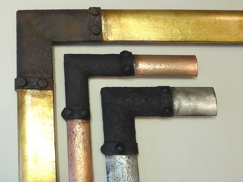 Steampunk - Rahmen in  3 Breiten