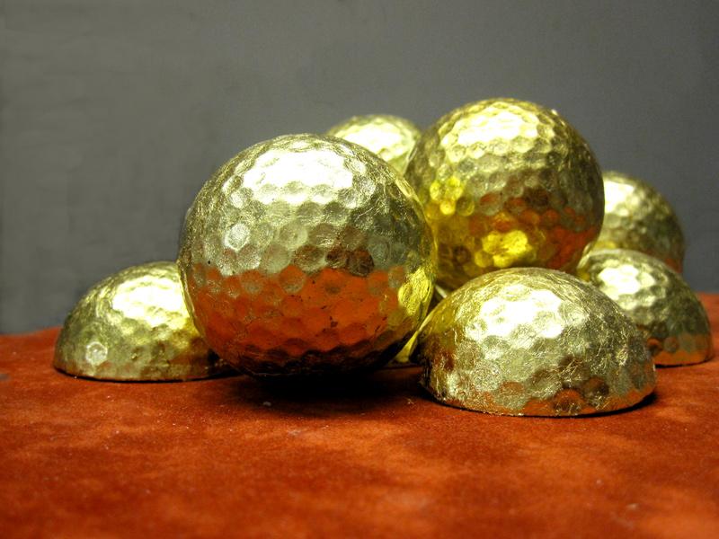 Golf 4 Golf - Golfbälle vergoldet