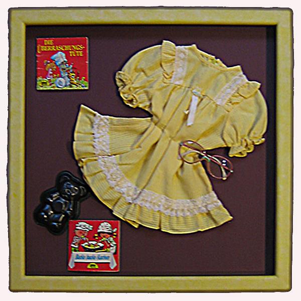 Objektrahmen - Gelbes Kleid
