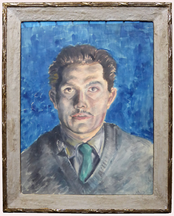 Porträt mit Passepartoutrahmen
