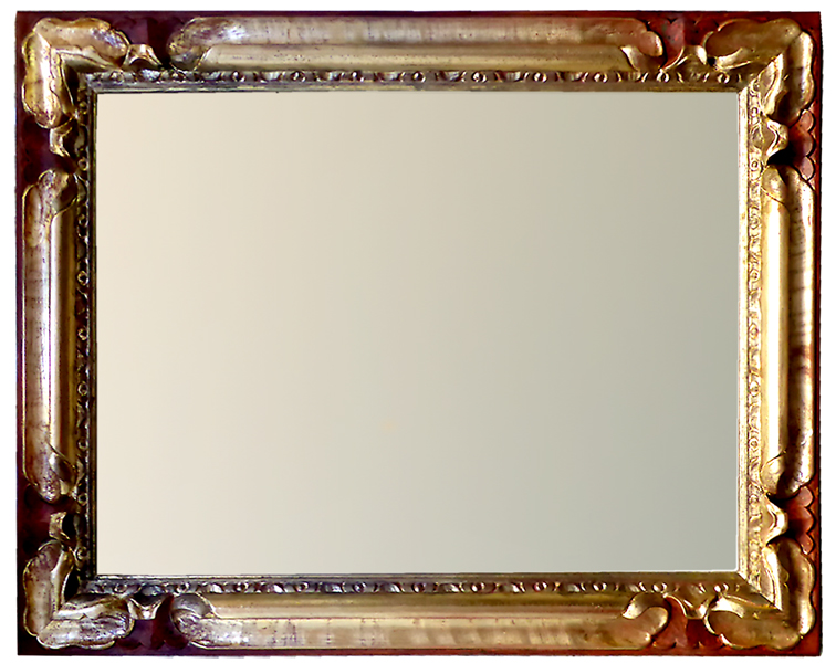 Handgeschnitzter Rahmen - 60x80 cm