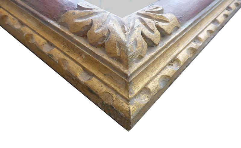Toscana – Handgeschnitzter Modellrahmen_Ausschnitt 3