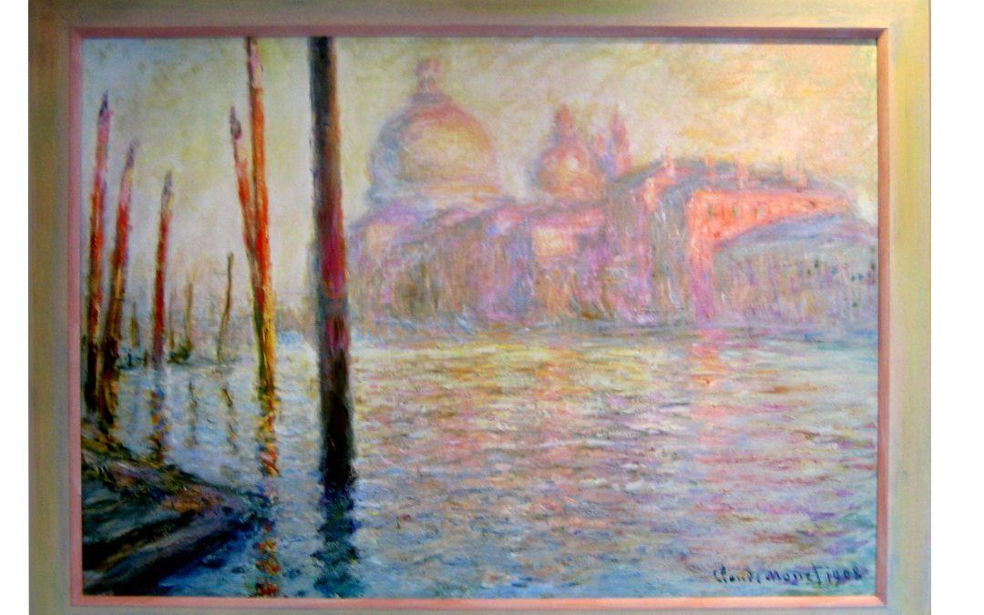 Modellrahmen – Claude Monet – View of Venice